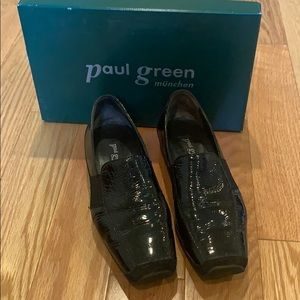 Paul Green Tasha Patent Suede Loafer